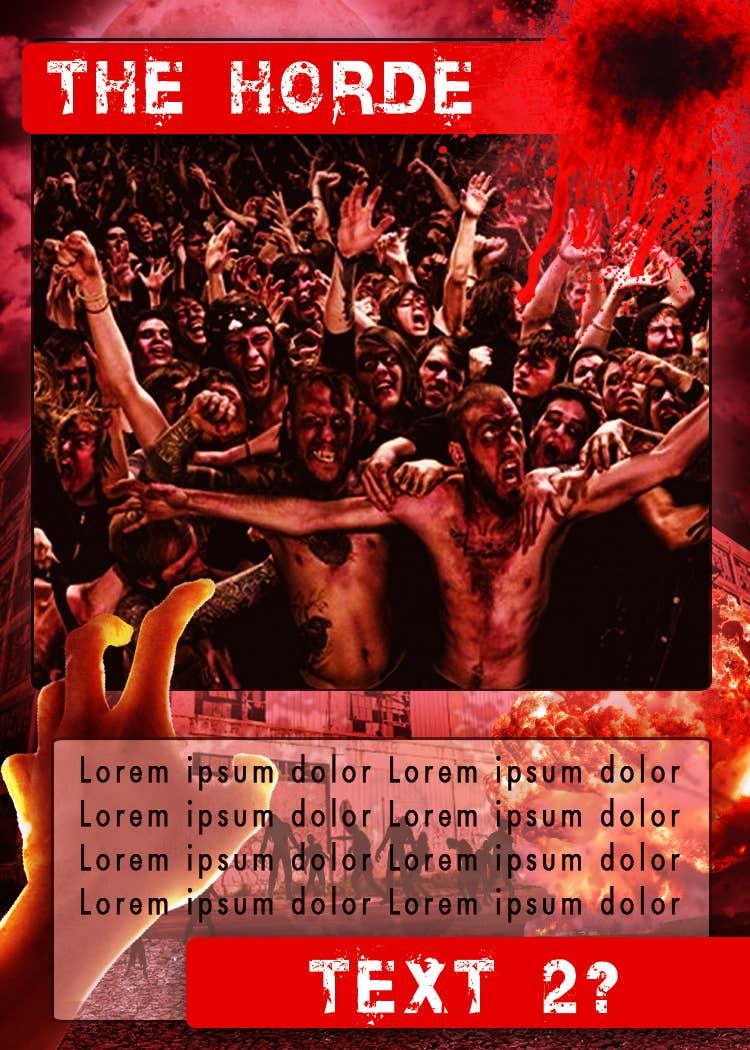 Inscrição nº 13 do Concurso para Design Trading Card for Zombies Card Game