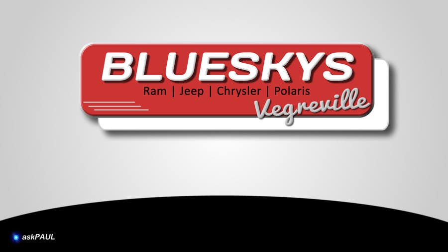 #3 for Blueskys Logo by askPaul