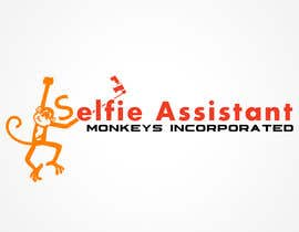 #2 for Design a Logo for Selfie Assistant Monkeys Incorporated af graphicmaster99