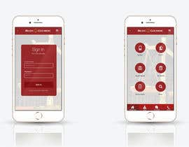 nº 22 pour Design an App Mockup for Lawyer App par leandeganos