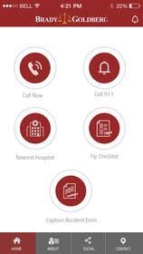 #17 cho Design an App Mockup for Lawyer App bởi ankisethiya