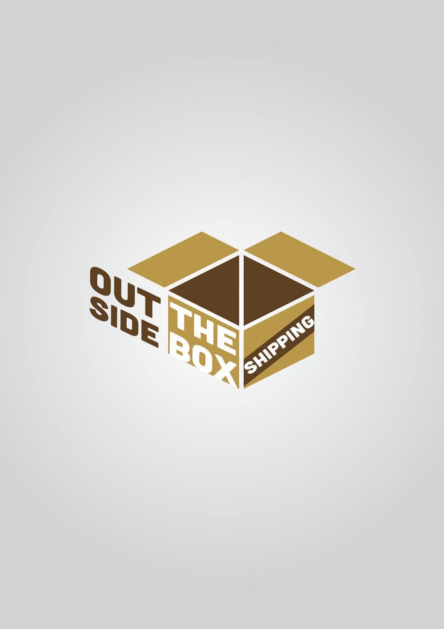 Konkurrenceindlæg #65 for Shipping Box Logo Design