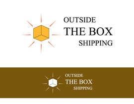 #70 untuk Shipping Box Logo Design oleh manthanpednekar
