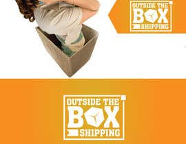 #61 untuk Shipping Box Logo Design oleh asyraf3ffendy