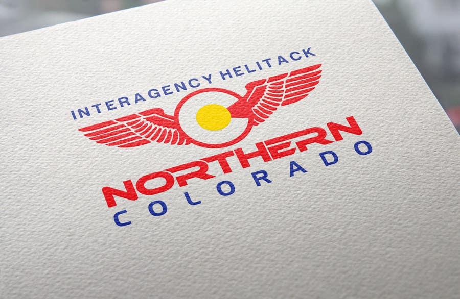 Kilpailutyö #48 kilpailussa Design a Logo for Colorado Helicopter Fire Crew