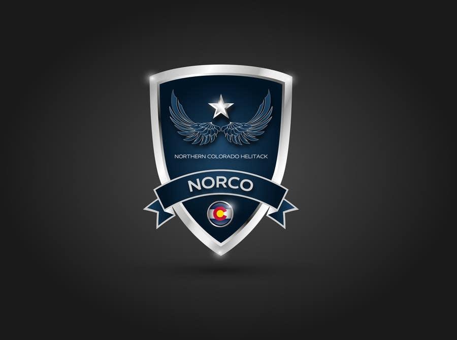 Kilpailutyö #20 kilpailussa Design a Logo for Colorado Helicopter Fire Crew