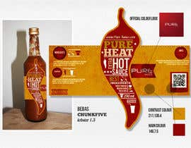 #126 cho Graphic Design for Chilli Sauce label bởi Macario88