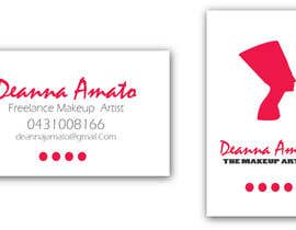 #10 para Design some Business Cards for Makeup Artist por contactdenis