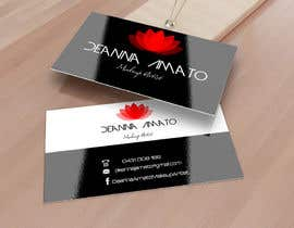 #19 para Design some Business Cards for Makeup Artist por rogeriolmarcos
