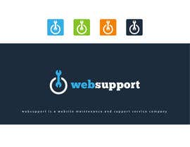 #77 para Design a Logo for websupport.nz por graphicclassiclx
