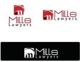 nº 48 pour Design a Logo for Mills Lawyers par infosouhayl