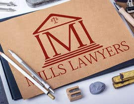 nº 12 pour Design a Logo for Mills Lawyers par abrargraphics19