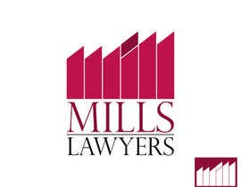 #55 for Design a Logo for Mills Lawyers by kazailp