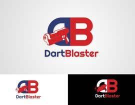 #20 para Logo Design for Dartblaster Website por Attebasile