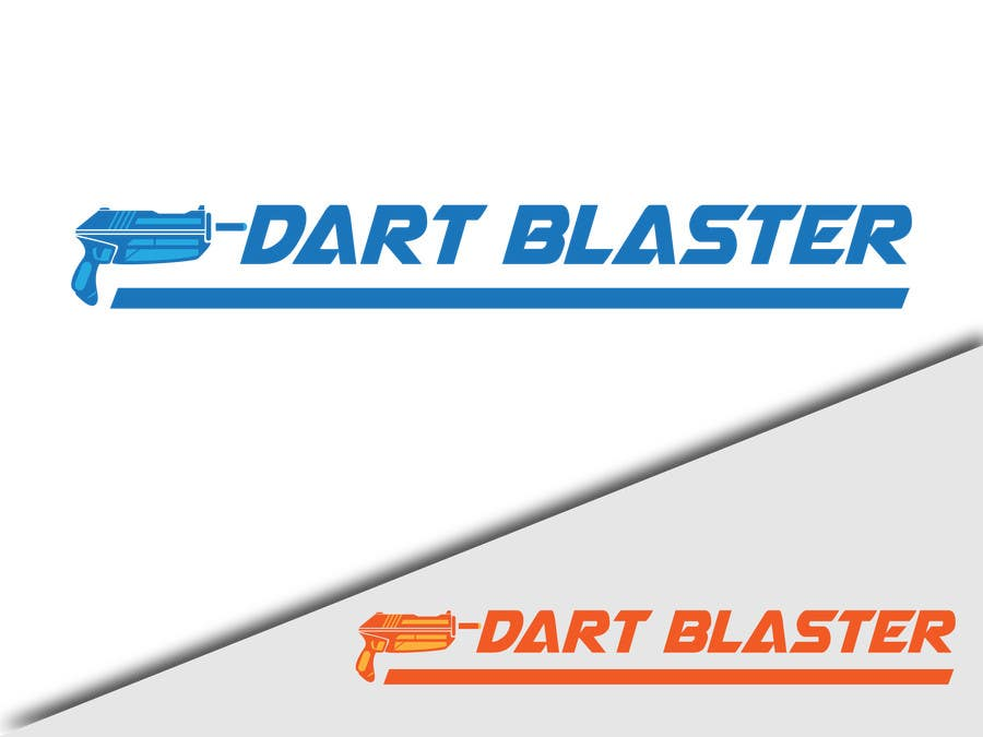 Konkurrenceindlæg #                                        10                                      for                                         Logo Design for Dartblaster Website