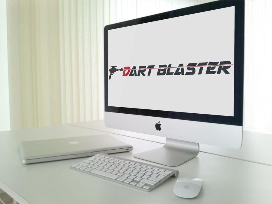 Contest Entry #8 for Logo Design for Dartblaster Website