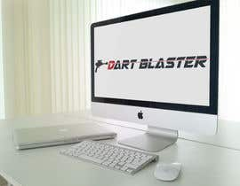 #8 para Logo Design for Dartblaster Website por vasked71