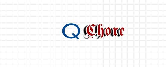 """Penyertaan Peraduan #172 untuk Design company Logo """"QCHORE"""""""