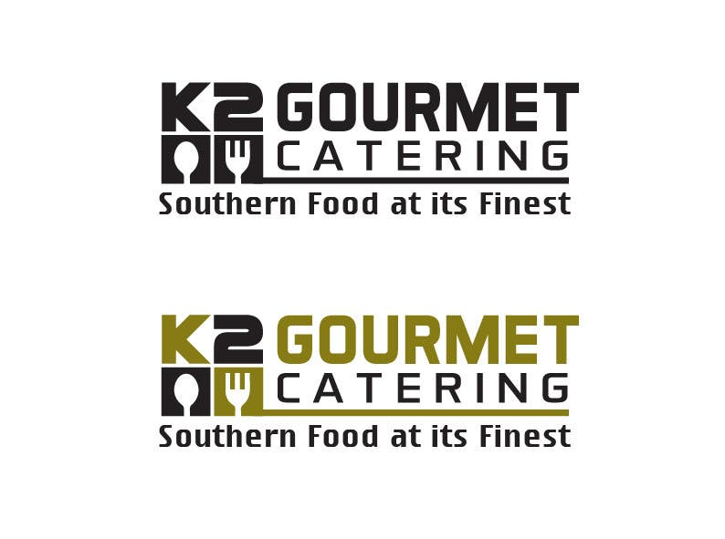 Contest Entry #                                        55                                      for                                         Design a Logo for K2 Gourmet Catering