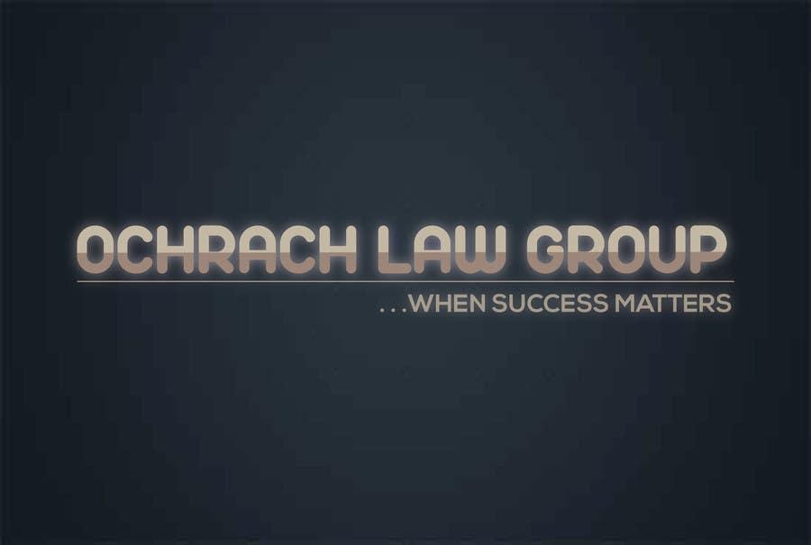 Konkurrenceindlæg #                                        84                                      for                                         Design a Logo for Ochrach Law Group