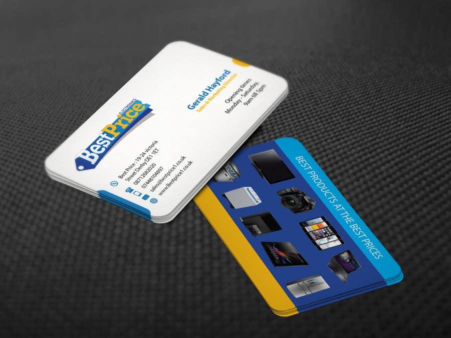 Penyertaan Peraduan #2 untuk Design some Business Cards for best price