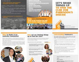 #8 for Design a  A5 Tri fold Brochure (A5 when closed) for a Not for Profit Foundation by pris