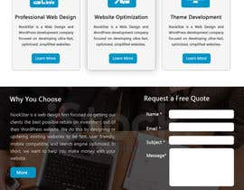 #52 cho Design a Website Mockup (2a) bởi rginfosystems