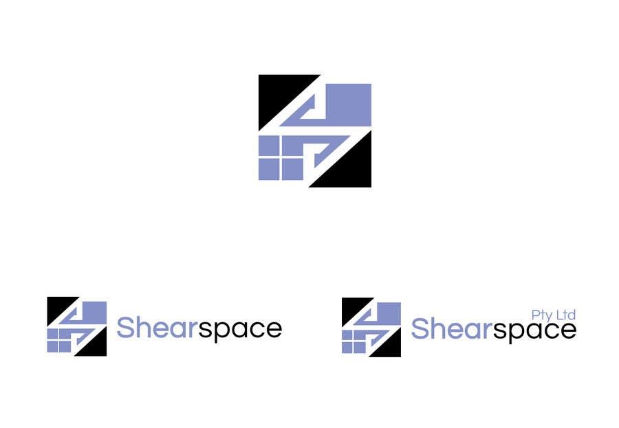 Penyertaan Peraduan #47 untuk Shearspace Logo