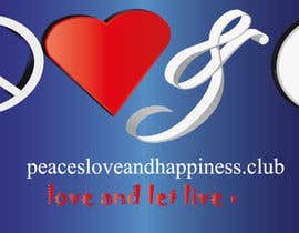 #7 for Design a Logo for www.peaceloveandhappiness.club by basmaseyam