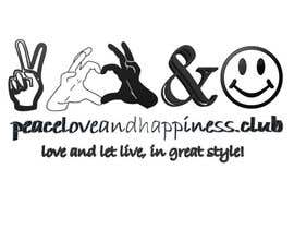 #8 for Design a Logo for www.peaceloveandhappiness.club by juditabadurina