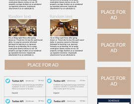 Mince321 tarafından Design a Website Mockup for Private Jet company için no 7