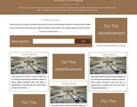 ravinderss2014 tarafından Design a Website Mockup for Private Jet company için no 26