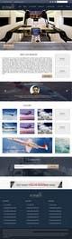 Konkurrenceindlæg #                                                14                                              billede for                                                 Design a Website Mockup for Private Jet company