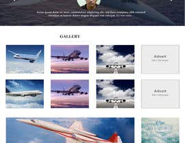sabhyata18 tarafından Design a Website Mockup for Private Jet company için no 14