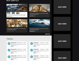 Nro 4 kilpailuun Design a Website Mockup for Private Jet company käyttäjältä xsasdesign
