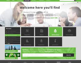 #26 untuk Design a Website Mockup for TheGreenOffice.com oleh faizalmohamed88