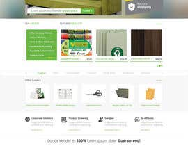 #20 untuk Design a Website Mockup for TheGreenOffice.com oleh Pavithranmm