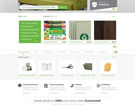 #27 untuk Design a Website Mockup for TheGreenOffice.com oleh Pavithranmm