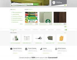 #42 untuk Design a Website Mockup for TheGreenOffice.com oleh Pavithranmm