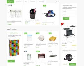 #16 untuk Design a Website Mockup for TheGreenOffice.com oleh syrwebdevelopmen