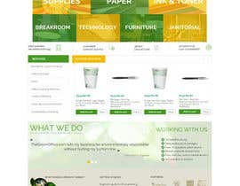 #38 untuk Design a Website Mockup for TheGreenOffice.com oleh AustralDesign
