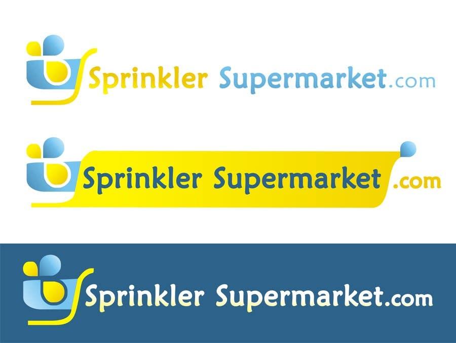 Proposition n°                                        13                                      du concours                                         Design a Logo for SprinklerSupermarket.com
