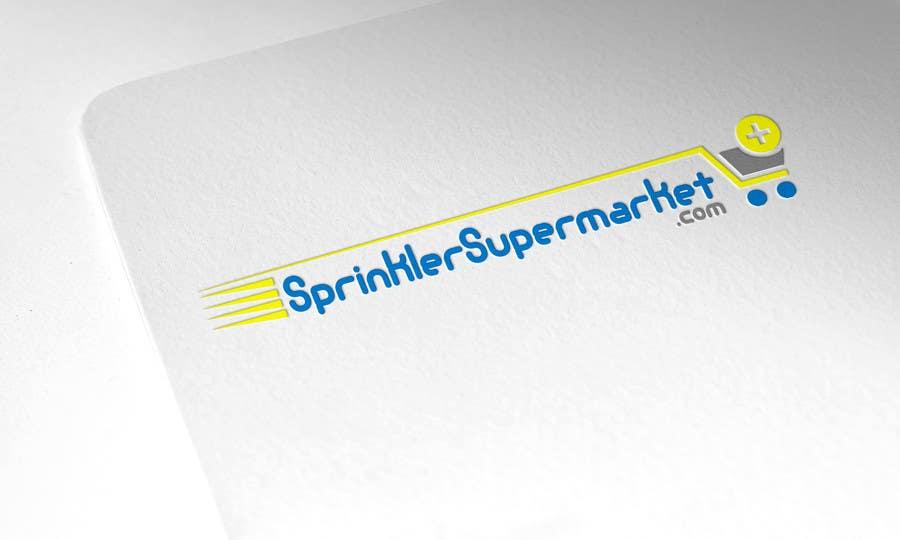 Proposition n°                                        10                                      du concours                                         Design a Logo for SprinklerSupermarket.com