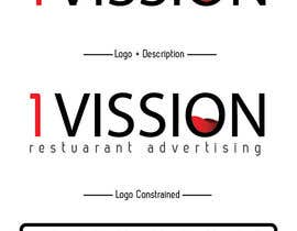 #44 untuk We need new logo for advertising company 1Vision oleh NathanDeRidder