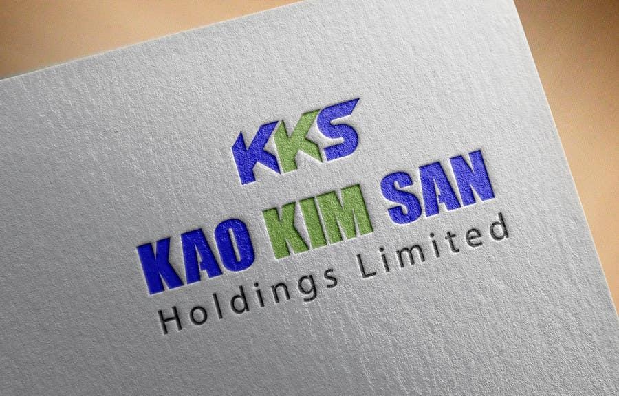 Konkurrenceindlæg #5 for Design a Logo for Kao Kim San Holdings Limited