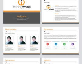 #19 para Develop a Corporate Identity for TrainingWheel por Brandwar