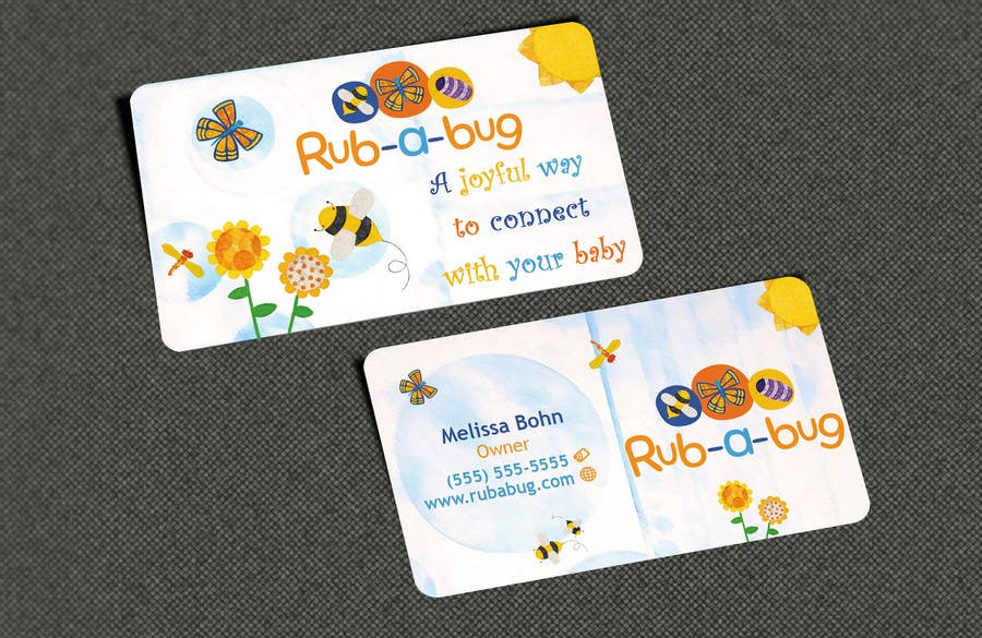 Konkurrenceindlæg #                                        16                                      for                                         Design some Business Cards for Rub-a-Bug