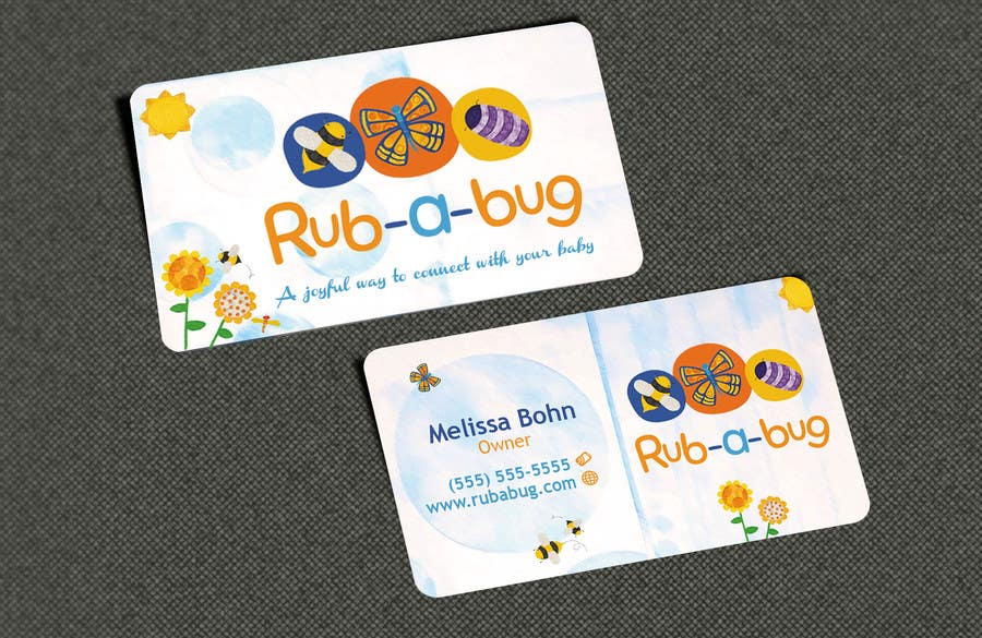 Konkurrenceindlæg #                                        38                                      for                                         Design some Business Cards for Rub-a-Bug