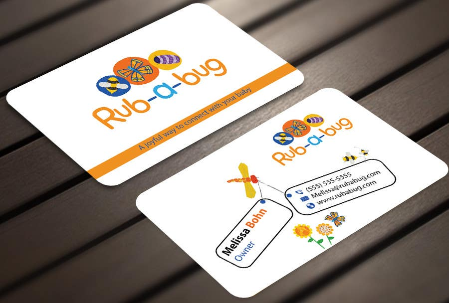 Contest Entry #                                        22                                      for                                         Design some Business Cards for Rub-a-Bug