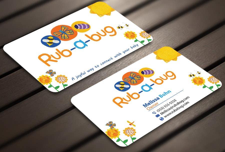 Konkurrenceindlæg #                                        33                                      for                                         Design some Business Cards for Rub-a-Bug